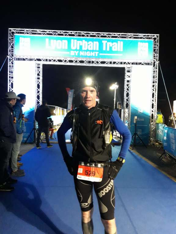 Bravo à Laurent qui a participé à l'Urban Trail de Lyon by Night 2018
